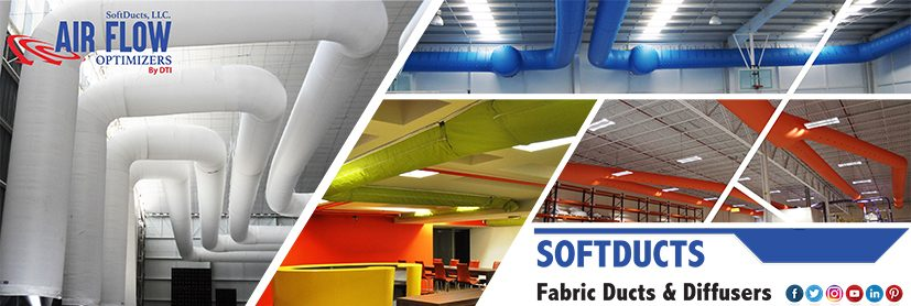 Fabric ducts and diffussers